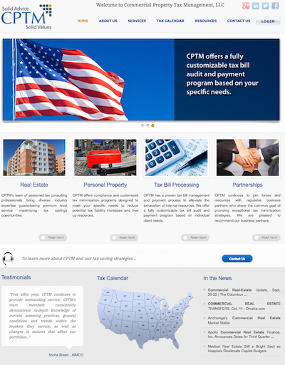 cptm website design