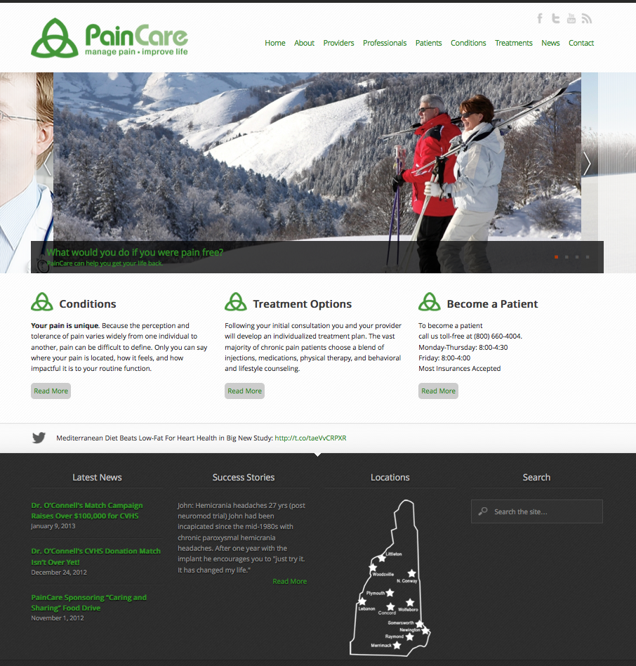 paincare website