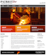 patriot foundry website